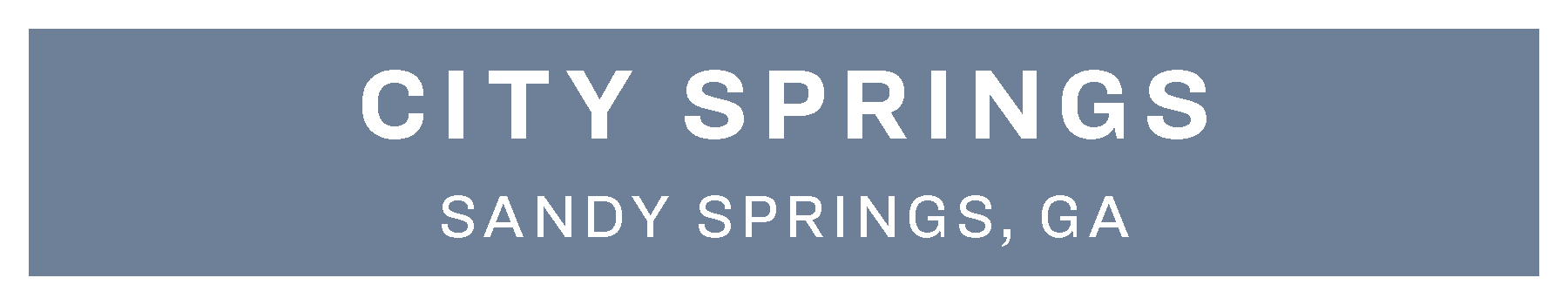 City Springs Topper 08 2019